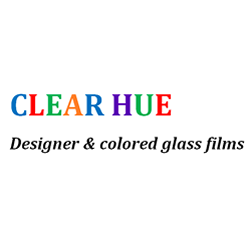 Interior design glass: Clear Hue Custom Print and Frosted Window Films